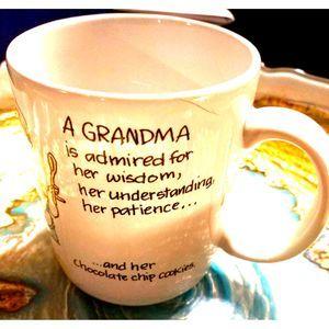 Vintage Kitchen - Grandma's Wisdom/Patience Coffee Mug